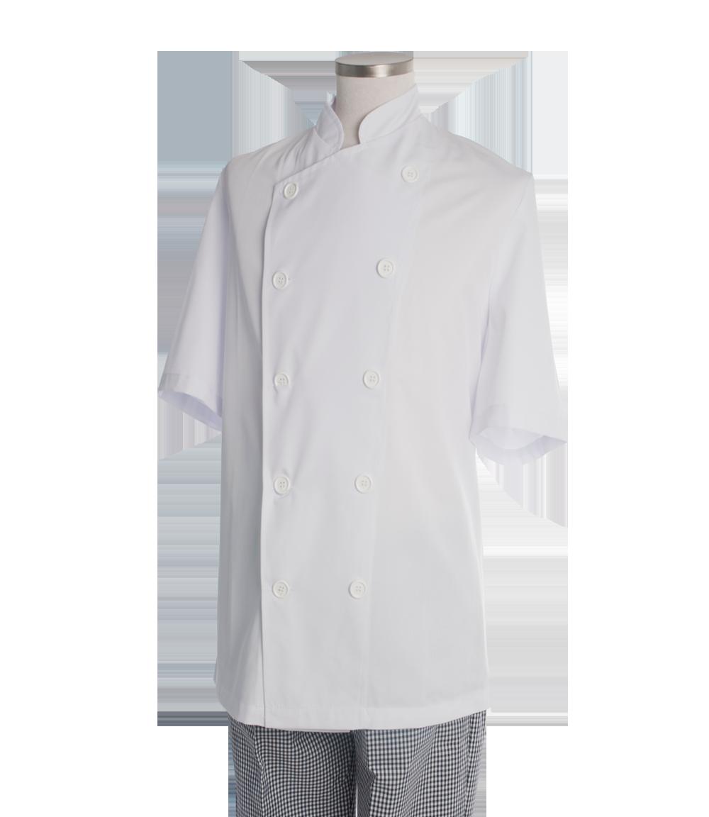 Chaqueta cocina blanca m/corta